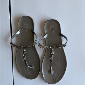 Ann Taylor Loft Sandals.